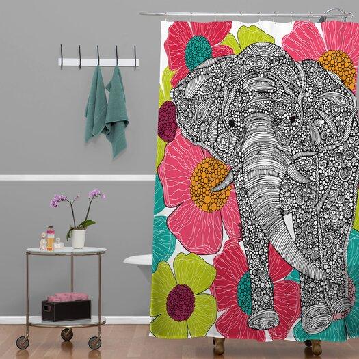 DENY Designs Valentina Ramos Woven Polyester Groveland Shower Curtain