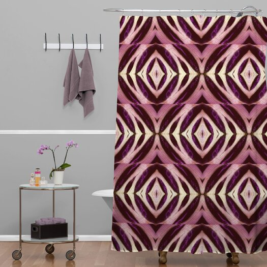 DENY Designs Wagner Campelo Polyester Calathea Shower Curtain