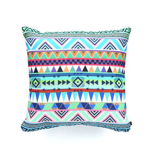 DENY Designs Bianca Green Esodrevo Woven Polyester Throw Pillow