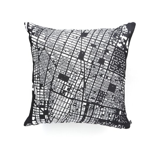 DENY Designs CityFabric Inc NYC Woven Polyester Throw Pillow
