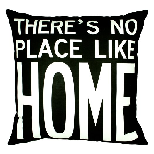 Uptown Artworks No Place Like Home Pillow
