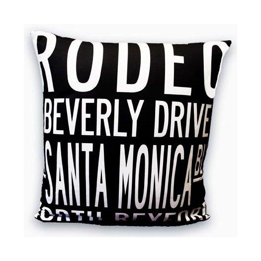 Uptown Artworks Beverly Hills Pillow