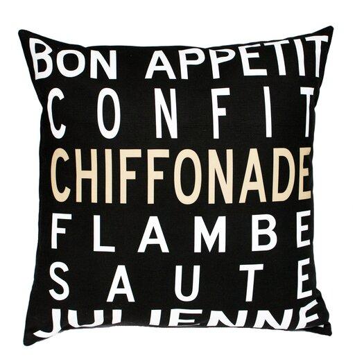 Uptown Artworks Bon Appetit Pillow