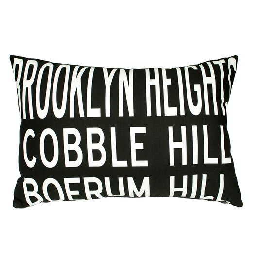 Uptown Artworks Brooklyn Heights Pillow