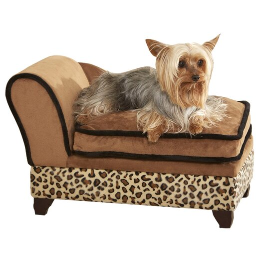 Enchanted Home Pet Ultra Plush Storage Dog Sofa I