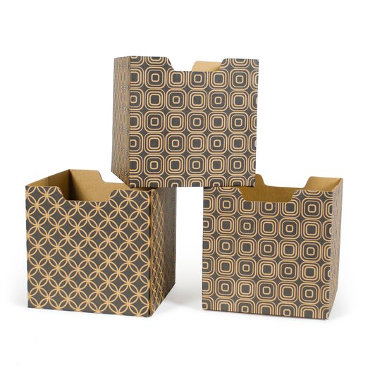 Star Pattern Decorative Storage Box