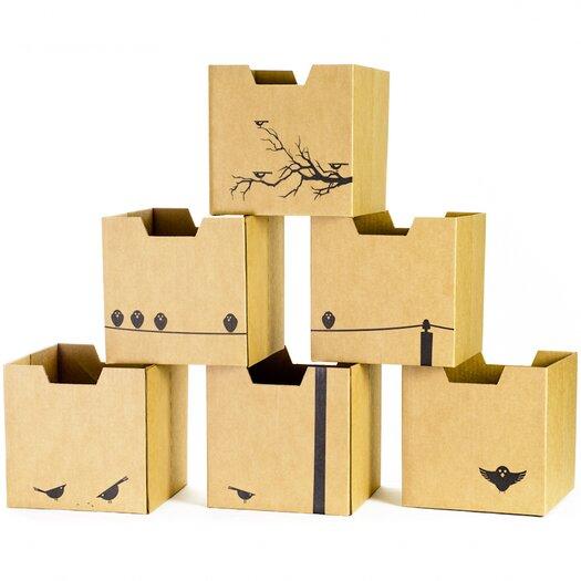 Sprout Cardboard Bird Cubby Bins
