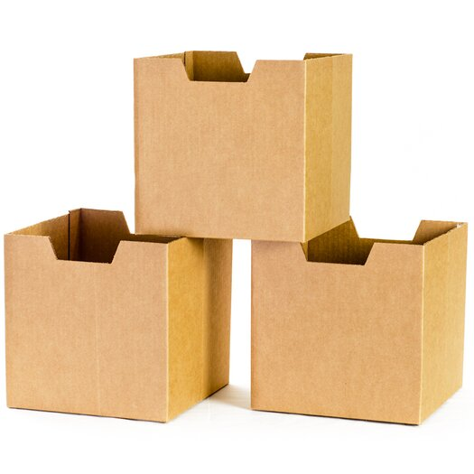 Sprout Cardboard Cubby Bins