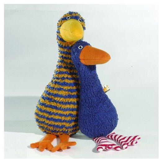 Challenge & Fun Lana Goose Organic Stuffed Animal in Blue