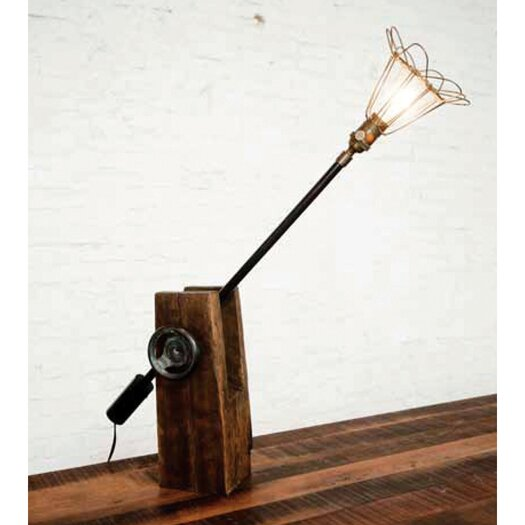 """District Eight Design 15.75"""" H Table Lamp"""