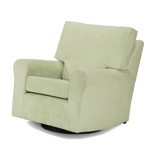 Harmony Kids Modern Square Back Adult Glider in Lime