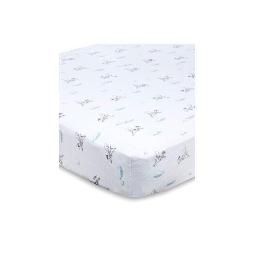 aden + anais Muslin Fitted Crib Sheet