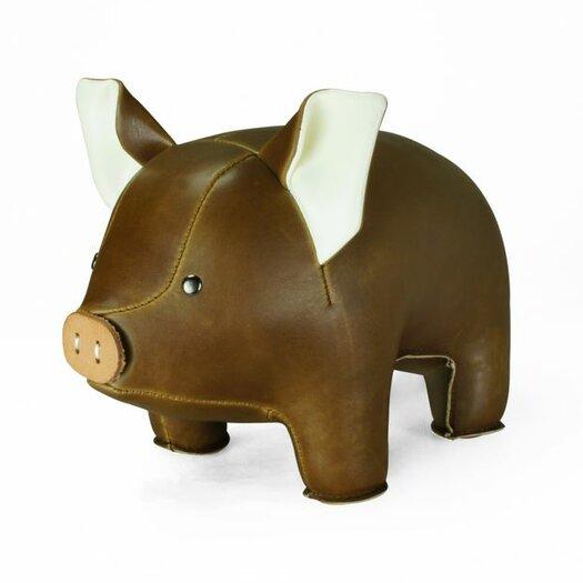 Zuny Classic Pig Bookend