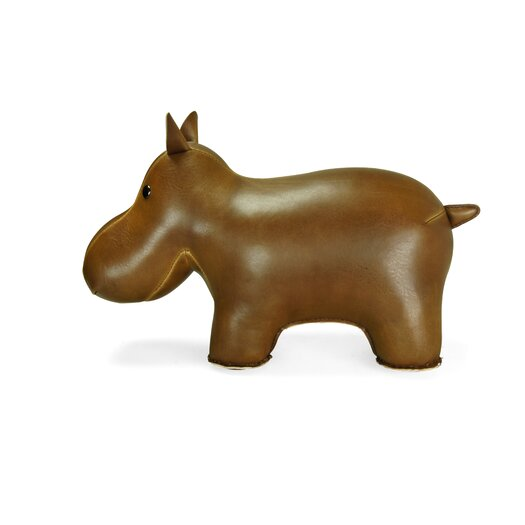 Zuny Classic Hippo Door Stopper