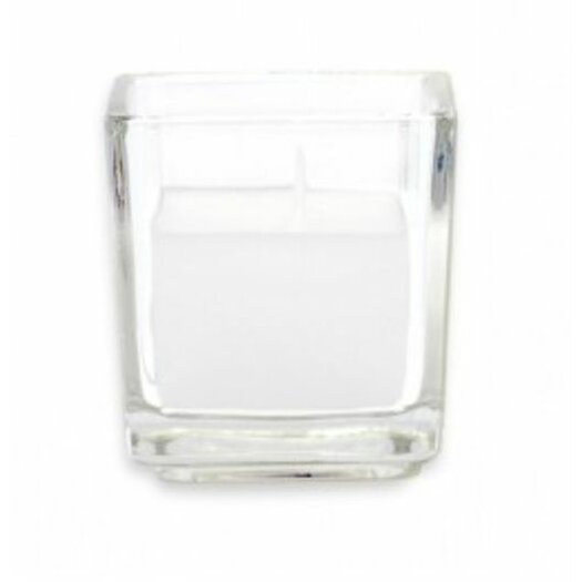 Zest Candle Citronella Square Glass Votive Candles