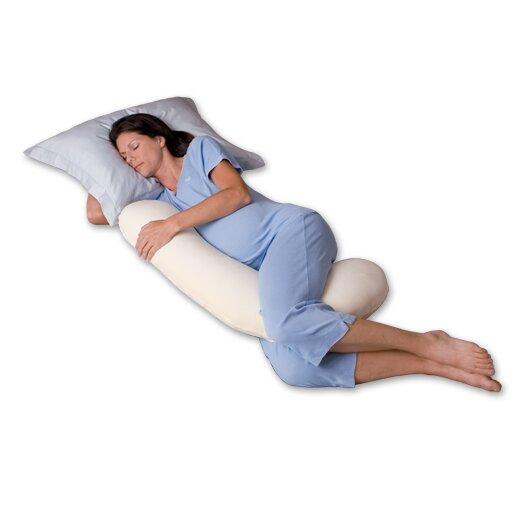 Snoozer Body Pillow Snuggle Buddy 500 Thread Count Ergonomic Body Pillow