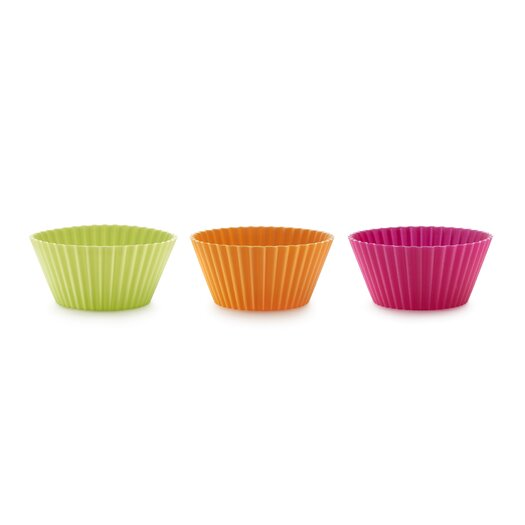 Lekue 6 Piece Muffin Cup Muffin Cup Set