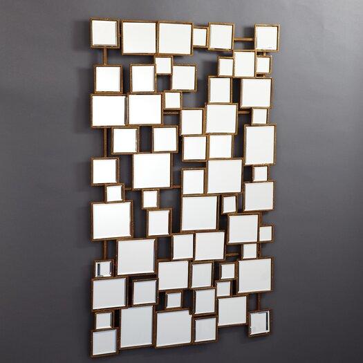 Tozai  Facets Square Wall Mirror
