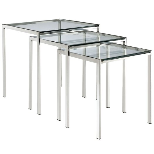 Modway Nimble 3 Piece Nesting Tables