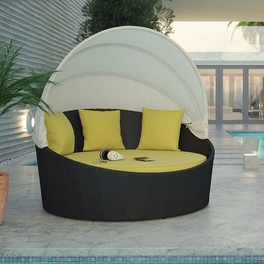 Modway Siesta Canopy Daybed with Cushions