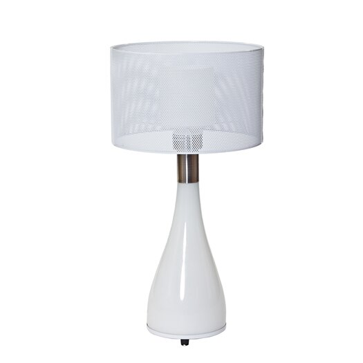 "Modway Mushroom 22"" H Table Lamp with Drum Shade"