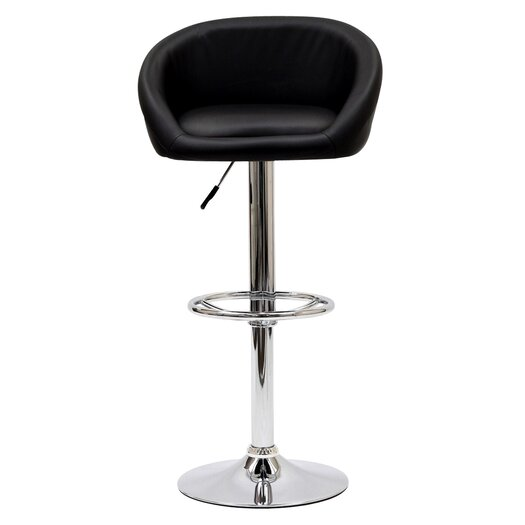 Modway Marshmallow Adjustable Height Bar Stool