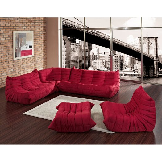 Modway Deluge Sofa Set