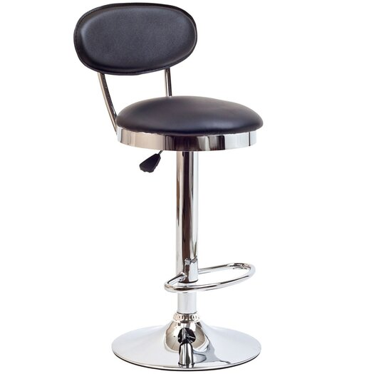 Modway Retro Adjustable Height Bar Stool