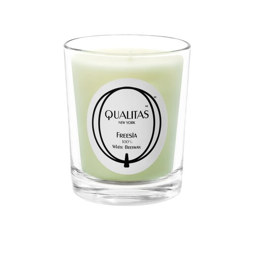 Qualitas Candles Beeswax Freesia Scented Candle
