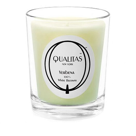 Qualitas Candles Beeswax Verbena Scented Candle