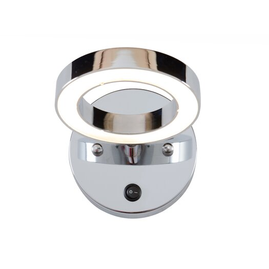 Alternating Current Halo 1 Light LED Vanity Light