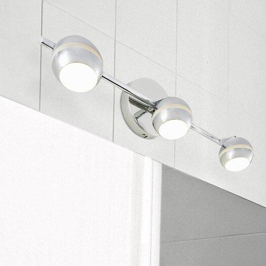 Alternating Current Bionic 3 Light LED Vanity Light