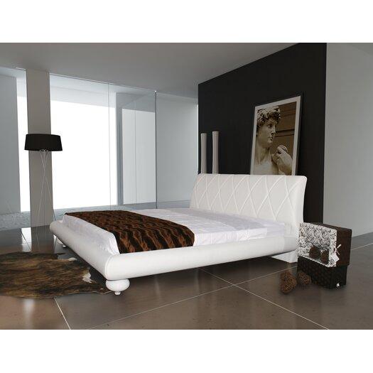 Casabianca Furniture Joy King Platform Bed