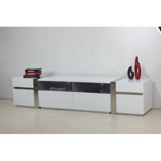 Casabianca Furniture Cristallino TV Stand