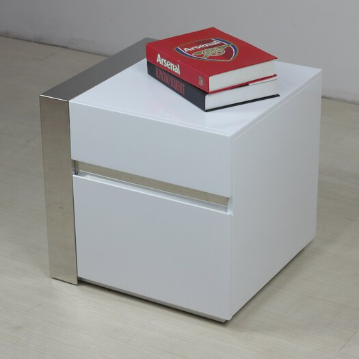 Casabianca Furniture Cristallino Right End Table