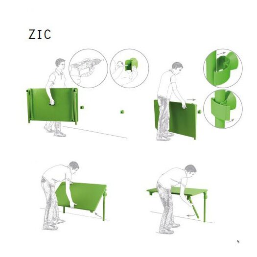 Nardi Zic-Zac Self-Storing Spring Set