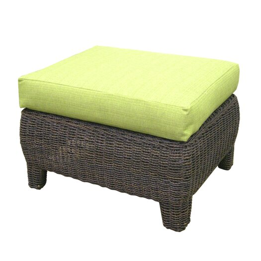 Padmas Plantation Bay Harbor Ottoman with Cushion