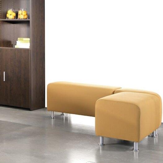 Steelcase Turnstone Alight Lounge Bench Ottoman