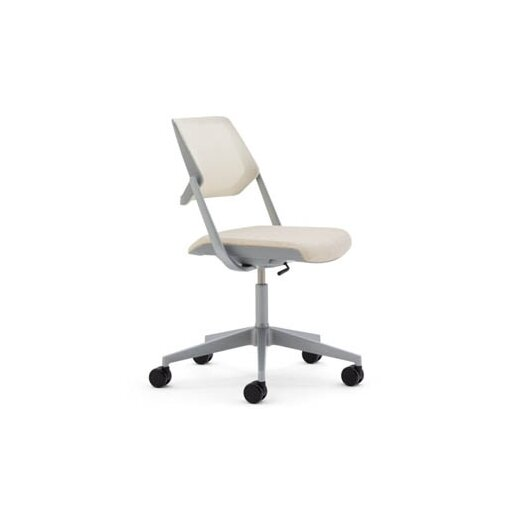 Steelcase Mesh QiVi Office Chair with No Arms