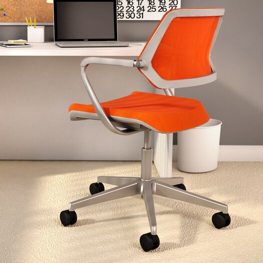"""Steelcase 33.25"""" Mesh QiVi Office Chair with Arms"""