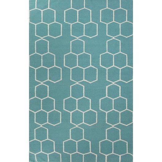 Jaipur Rugs Maroc Geometric Blue Area Rug