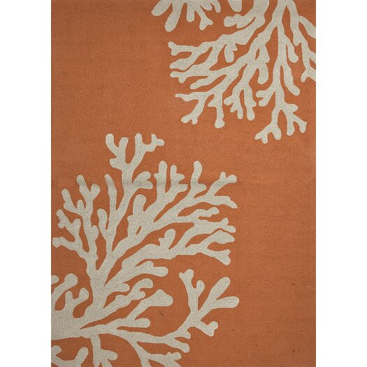 Jaipur Rugs Grant Orange/Gray Bough Out Indoor/Outdoor Area Rug