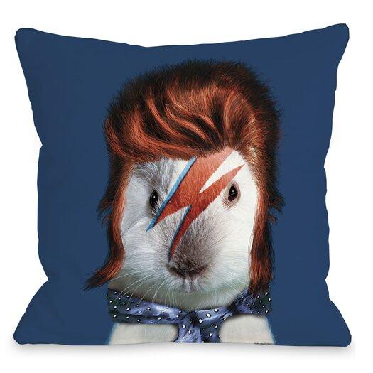 One Bella Casa Pets Rock Glam Rock Pillow
