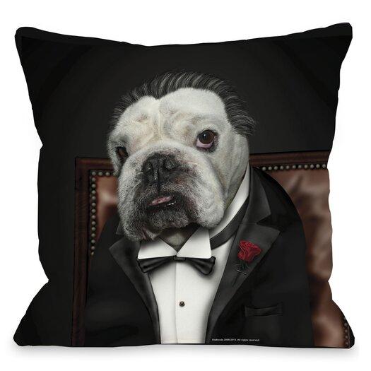 One Bella Casa Pets Rock Dog Barker Pillow