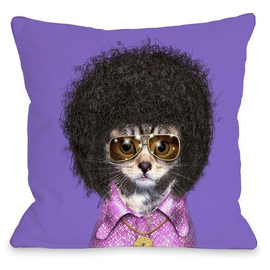 One Bella Casa Pets Rock Disco Pillow