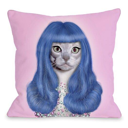 One Bella Casa Pets Rock Gurl Pillow