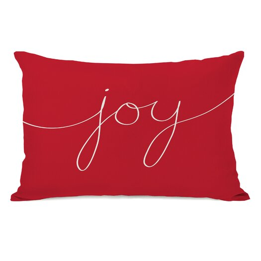 One Bella Casa Holiday Joy Mix and Match Pillow