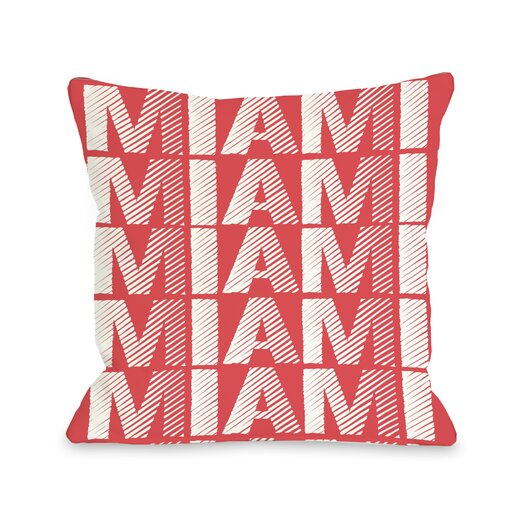One Bella Casa Miami Repeat Pillow