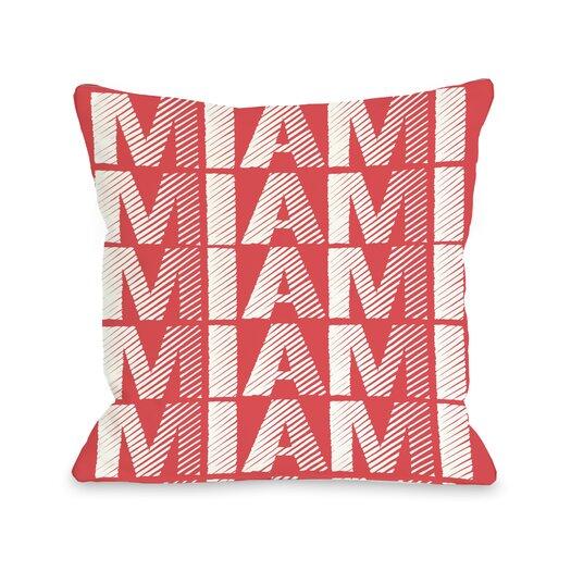One Bella Casa Miami Repeat Pillow