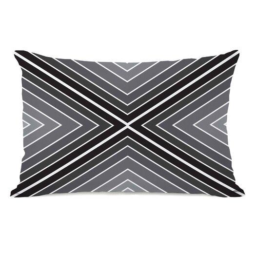 One Bella Casa Marks The Spot Geometric  Pillow